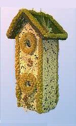 2-Story Birdhouse/Feeder BHC: For The Birds, Edible Birdhouses, Bird Feeders, Bird Gardens, Basic Bird, Story Birdhouse, Christmas Ideas, Birdhouse Feeder