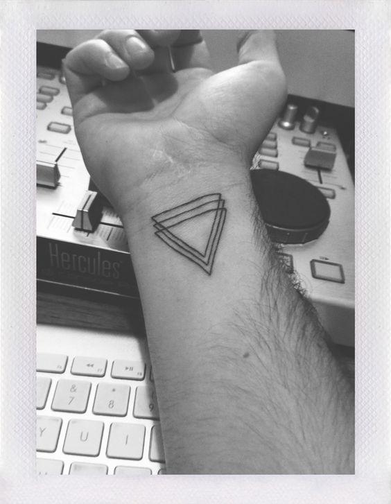 Geometric Wrist Tattoo: Pinterest • The World's Catalog Of Ideas