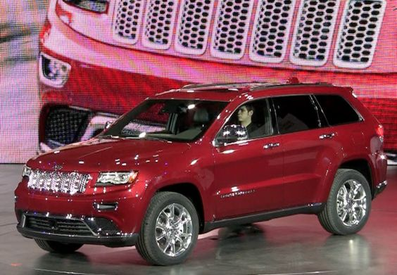 #Watch the #2014 #Jeep #Grand #Cherokee #Diesel #Debut at the Detroit Auto Show