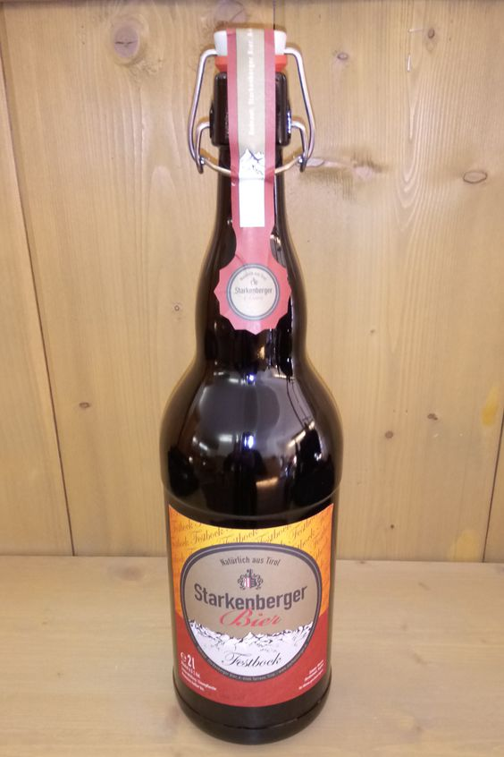 3l Flasche Starkenberger Festbock Festbock, Weihnachtsbier, Starkenberger, Bier, Brauerei