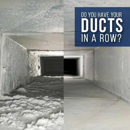 Let's talk duct work. When is the last time you had your ducts checked and cleaned?