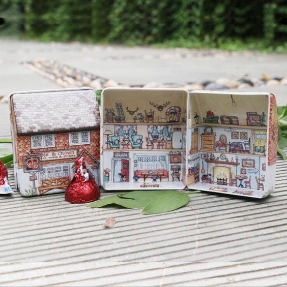 10 pcs Mini Vintage House Tinplate stockage de forme belle cadeaux Baby Shower boîtes de faveur souvenirs de mariage faveurs de mariage et cadeaux dans Accessoires de fêtes et d'évènement de Maison & Jardin sur AliExpress.com | Alibaba Group