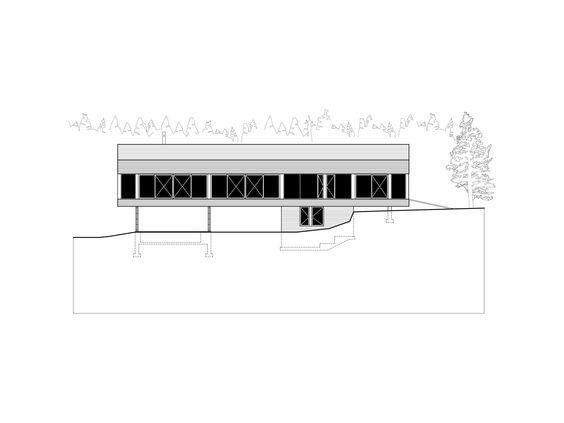 Zedernschindeln und Porch - Kanadisches Ferienhaus am See