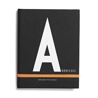 Design Letters Notizbuch - A - Design Letters