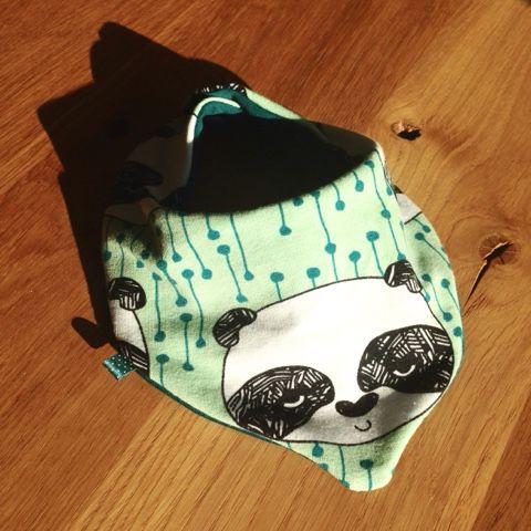 muckelfuchs: Noch mehr Panda - Dreieckstuch