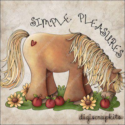 Simple Pleasures 1 Clip Art Single: