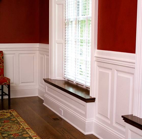 dining room wainscoting panels dining room wainscoting ideas from wainscoting america. Black Bedroom Furniture Sets. Home Design Ideas