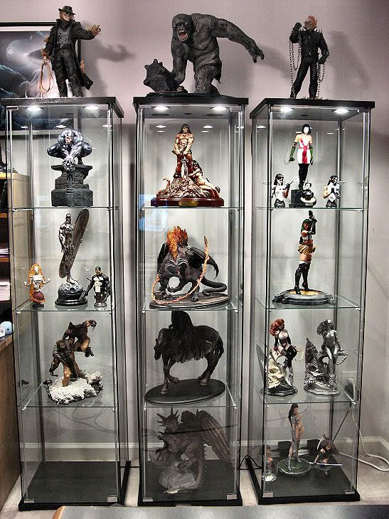 Hot Toys Secret Base | Statue Display Ideas | Pinterest | Toy ...
