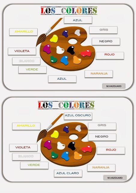 CLASE DE ESPAÑOL : los colores #learn #spanish #kids