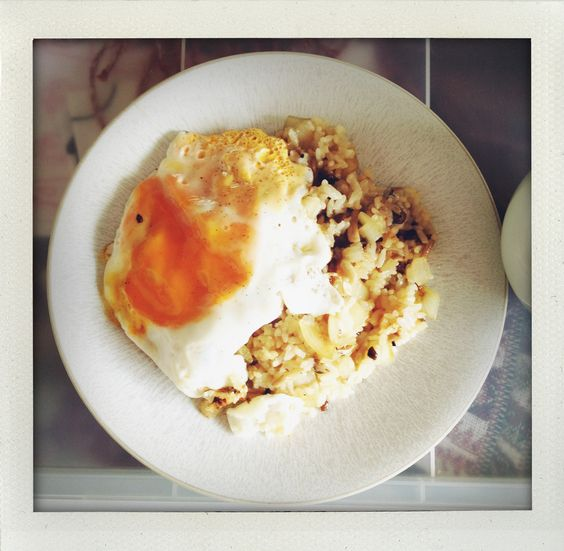 rice and egg