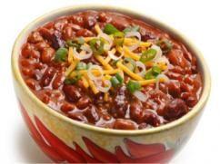 """Chili"" de frijoles rojos"