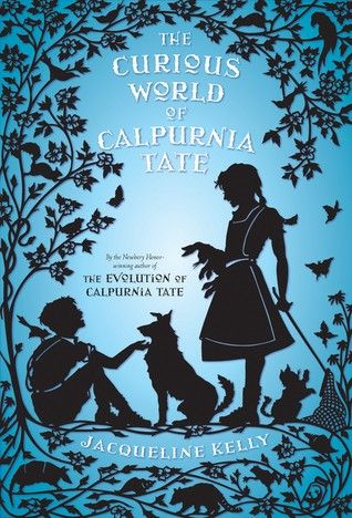 The Curious World of Calpurnia Tate (Calpurnia Tate #2) by Jacqueline Kelly  Age: 9-12  Callie Vee, Travis, Granddaddy, and the whole Tate clan are back in this charming follow-up to Newbery Honor–winner The Evolution of Calpurnia Tate.