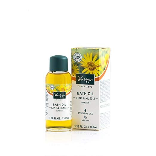 Kneipp Arnica Herbal Bath Oil For Joint Muscles Bath Soak 3 38 Fl Oz Bath Oils Herbal Bath Bath Soak