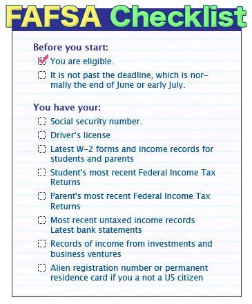 January 1st is the first day you can submit your FAFSA application - social security application form
