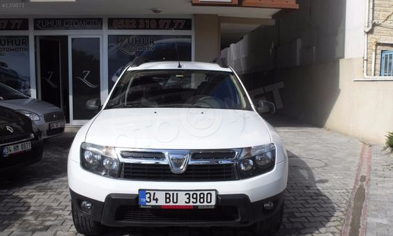 DUSTER DUSTER LAUREATE 1.5 DCI 90 EURO5 2013 Dacia Duster DUSTER LAUREATE 1.5 DCI 90 EURO5