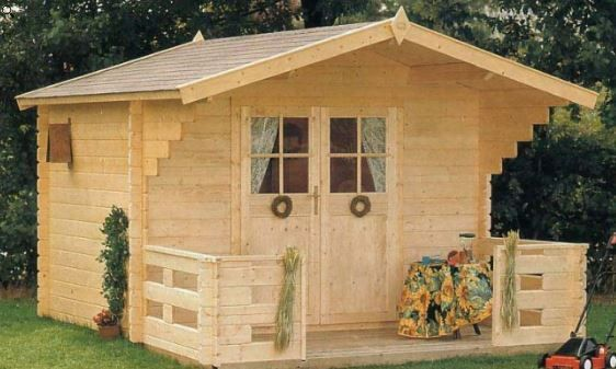 Douglas 10 X 8 Wood Storage Shed Kit With Porch Wooden Storage