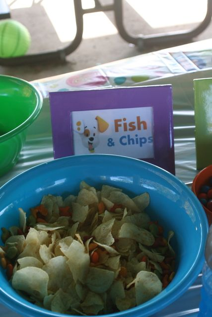 Bubble guppies birthday party ideas bubble guppies for Guppy fish food