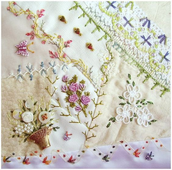 Embroidery - Crazy Quilt: