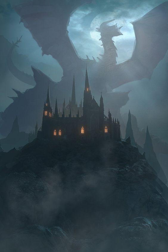 Mystery Dragon, Sergey Samarskiy on ArtStation at https://www.artstation.com/artwork/mystery-dragon:
