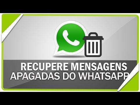 Como Restaurar Conversas Apagadas Do Whatsapp Youtube Com