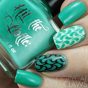 "COMING SOON Hit the Bottle ""Seas the Day"" Neon Stamping Polish"