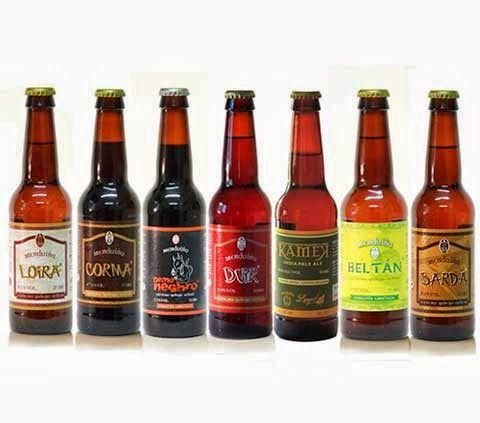 A la rica Cerveza Artesanal Gallega de Menduiña