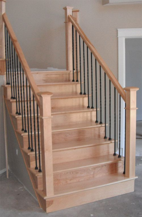 Best Square Craftsman Newel Post Twist Metal Balusters Picture 1 Projects To Diy Pinterest 400 x 300