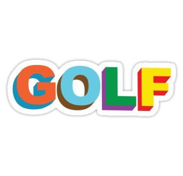 Tyler The Creator Golf Sticker By Ethantaylor Tyler The Creator Golf Tyler Golf Fashion