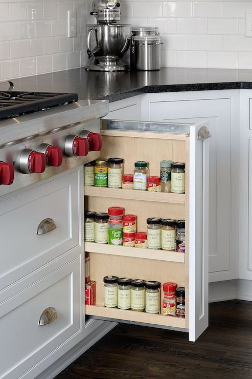 Spices, Spice cabinets and Mullets on Pinterest