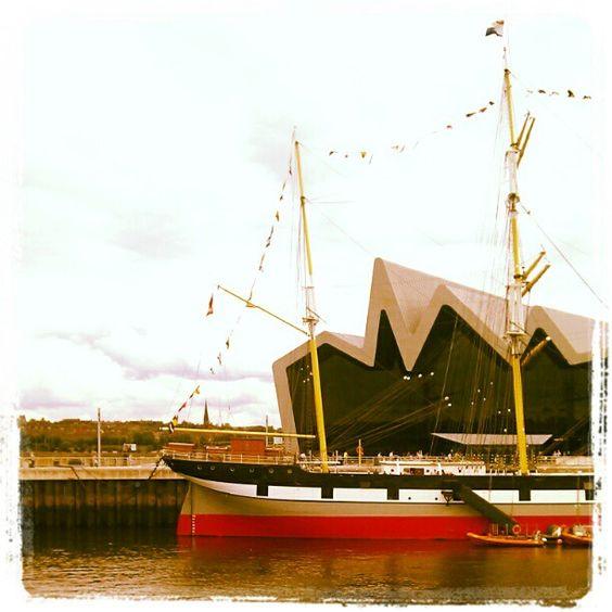 Tall ship & Riverside Museum