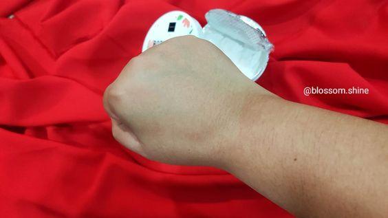 Hasil sesudah scrub, kulit langsung terlihat jadi lebih cerah