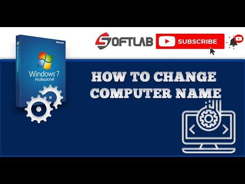 How To Change Your Computer Name On Windows 7 Youtube In 2020 You Changed Science And Technology Change