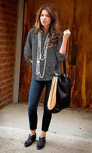 I need to learn to dress like this!  It's so me!