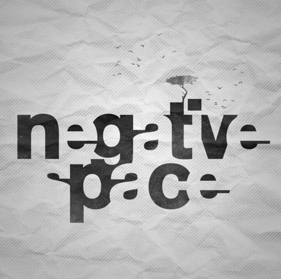 graphic design names ideas 20 creative negative space design inspiration typography