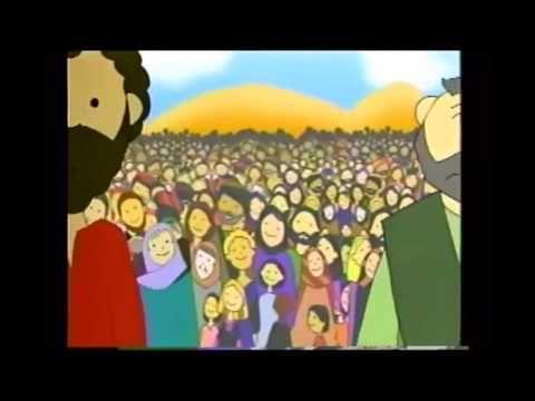 Jesus Multiplica La Comida Predica Para Niños Youtube Video Clip Jesus The Creator