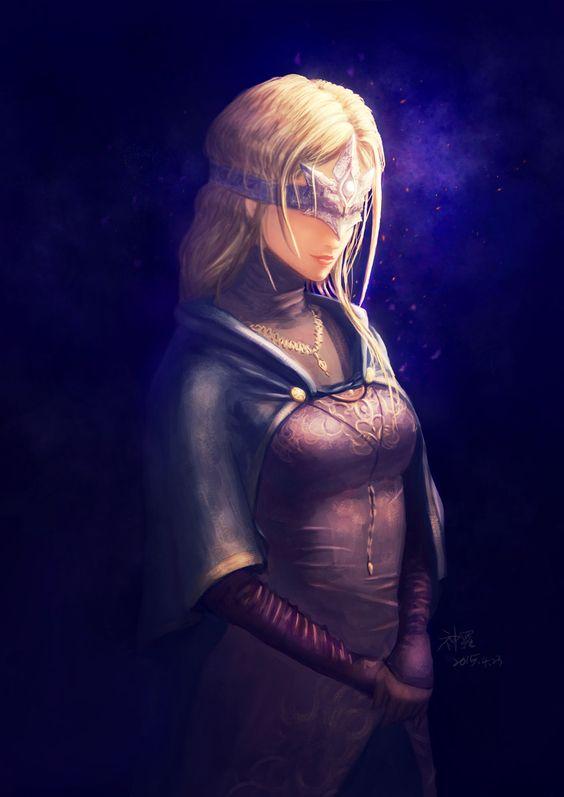 Fire keeper,DSIII персонажи,Dark Souls 3,Dark Souls,фэндомы,DS art,shin ra