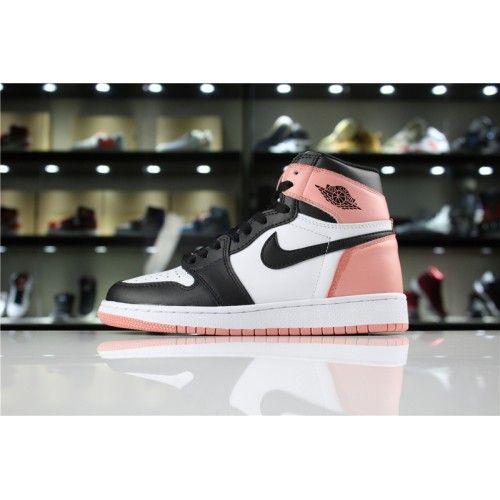 Women Air Jordan 1 Igloo black-pink shoes 36-40   Air jordans ...