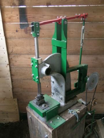 Small power hammer not a heavy hammer but with direct for Used electric motor shop equipment for sale