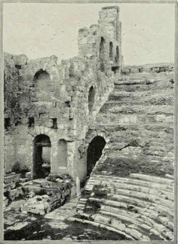 Teatro di Erode Attico, Atene 1901