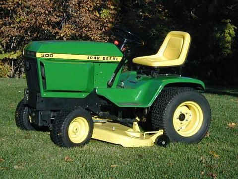 1975 John Deere 300 series Garden Tractors Nothing runs