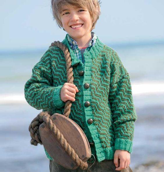 вязание мужских свитеров на молнии с карманами