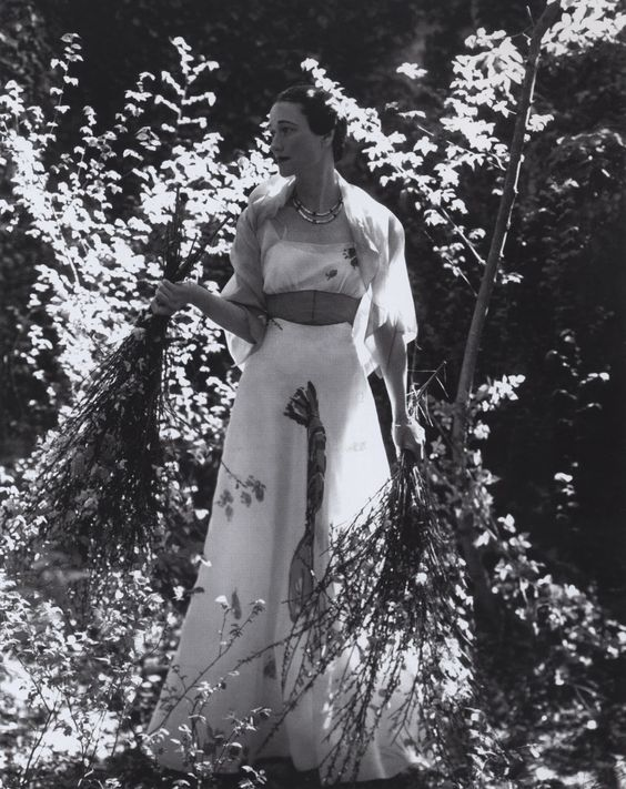 Famous Lobster Dress: Designed by Elsa Schiaparelli (with help from Salvador Dali) in 1937, Wore by Duchess of Windsor
