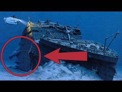 Real pictures of RMS titanic - YouTube | Titanic ship, Titanic underwater,  Titanic