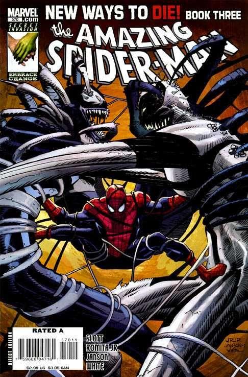 Amazing Spider-Man 570:   New Ways To Die, Part Three: The Killer Cure