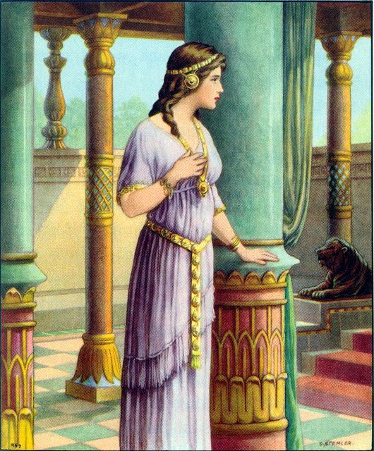An analysis of esther book during the persian empire during the time of xerxes