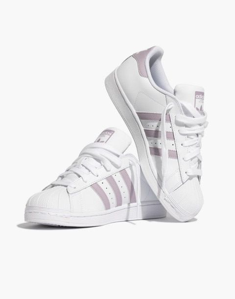 superstar adidas violet