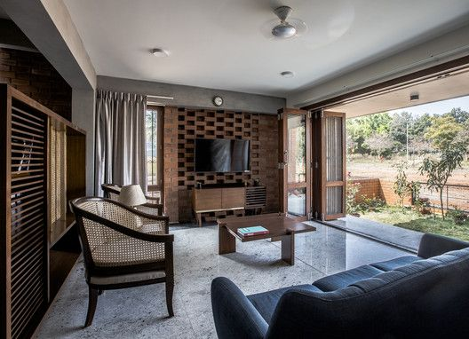 Corbel House Kamat Rozario Architecture With Images Residential Interior House Design House
