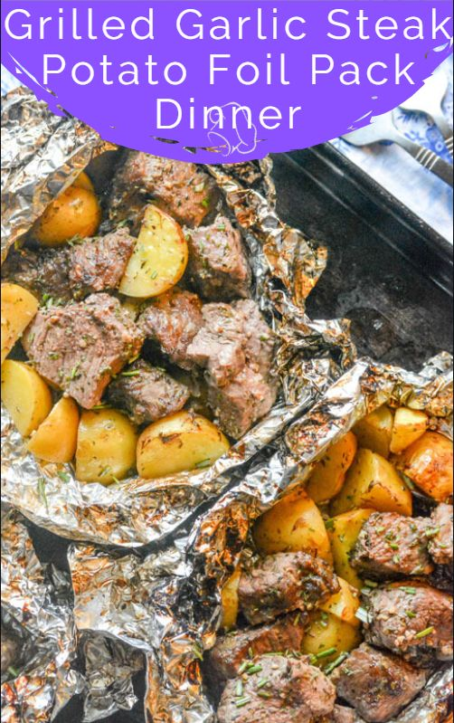 Grilled Butter Garlic Steak