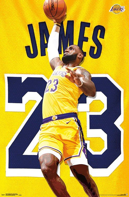 Lakers Legends Art Collage Poster 24 X 36