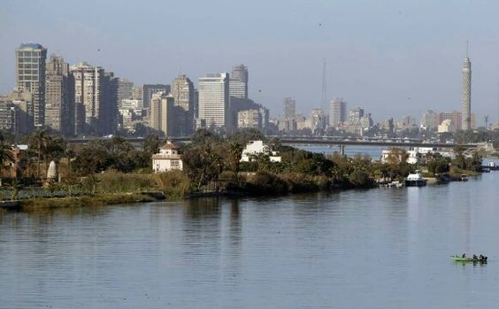 The Nile, Cairo